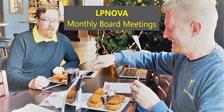 LPNOVA Monthly Board Meeting - Annual Budget tickets
