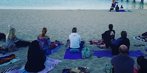 New Moon Beach Meditation