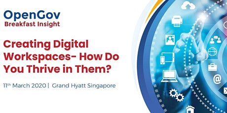 Creating Digital Workspaces- How Do You Thrive in Them? tickets