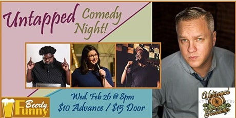 Untapped Comedy Night - a  Beerly Funny Stand Up Comedy Show tickets
