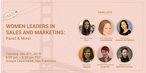 Women Leaders in Sales and Marketing: Panel Discussion and Mixer