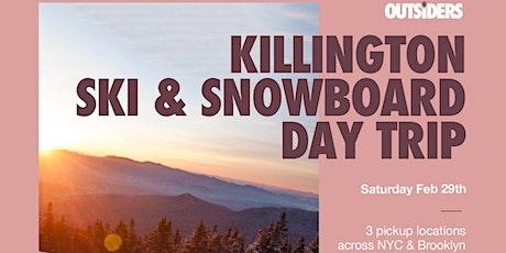Killington Ski & Snowboard Day Trip tickets