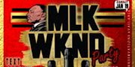 MLK Weekend Party @OnTheRocksDC  tickets