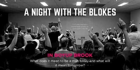 Tomorrow Man - A Night With The Blokes in Boyup Brook tickets
