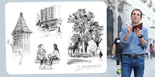 Urban Sketching Workshops in Bothell with Gabi Campanario