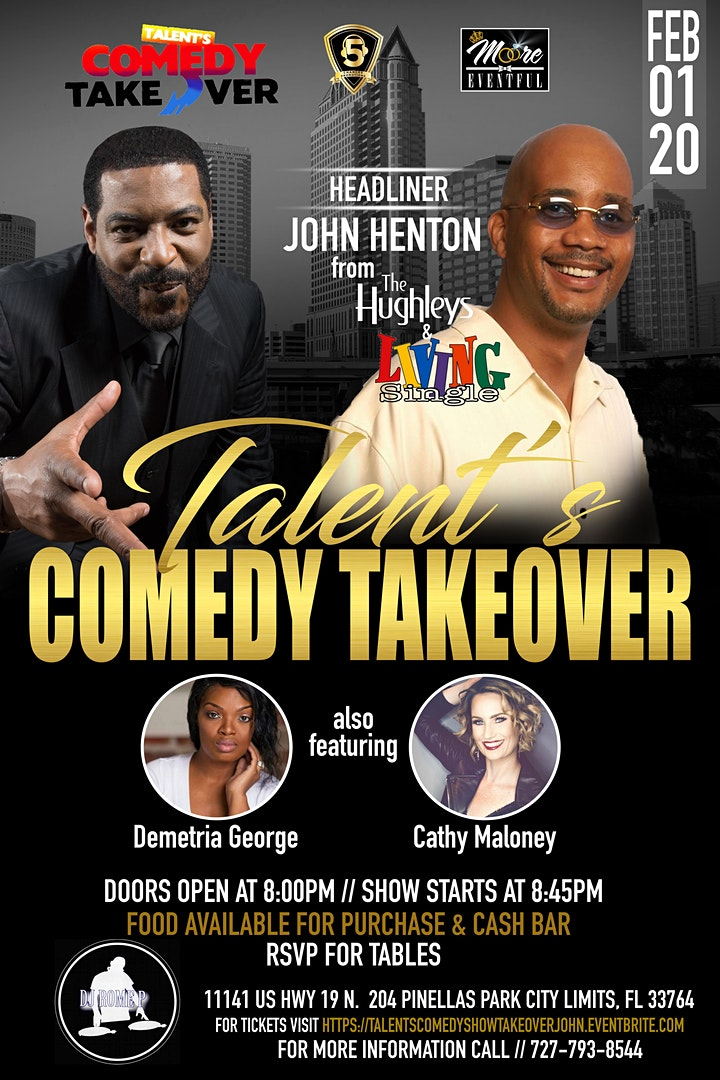 Talent's Comedy Takeover  Super Bowl  Weekend image