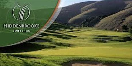 Vallejo PAL Memorial Golf Tournament at Hiddenbrooke tickets