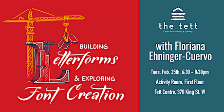 Building Letterforms & Exploring Font Creation tickets