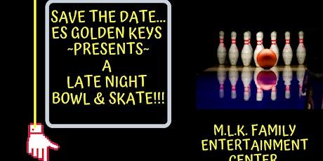 E's Golden Keys Late Night Bowl & Skate tickets