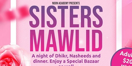 Noon Academy Sisters Mawlid tickets