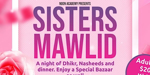 Noon Academy Sisters Mawlid