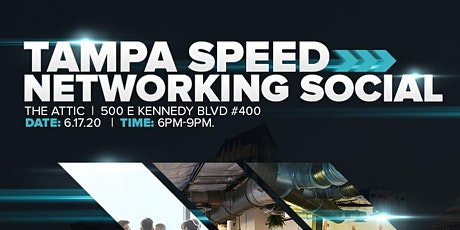 Downtown Tampa Speed Networking Social tickets