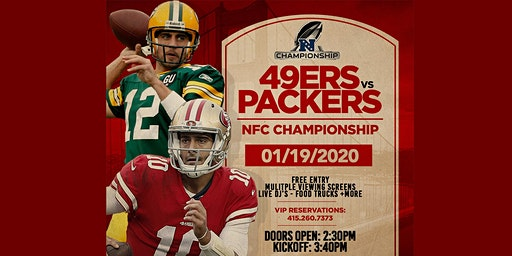 NFC Championship Viewing Party - GO NINERS!