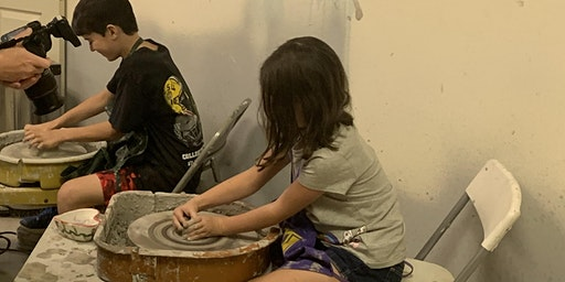 K-6th grade pottery and art camp