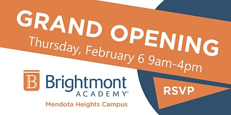 Brightmont Academy - Mendota Heights Grand Opening tickets