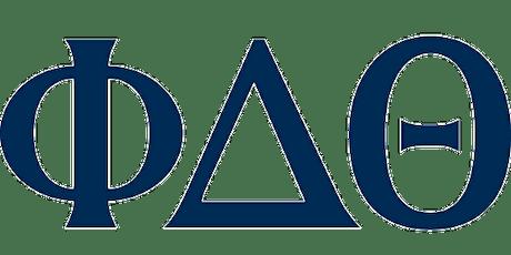 Phi Delta Theta- Texas Tau Chartering Banquet tickets