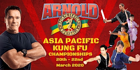 Arnold Sports Festival Australia  Asia Pacific Kung Fu Championships 2020 tickets
