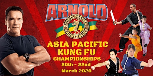 Arnold Sports Festival Australia  Asia Pacific Kung Fu Championships 2020