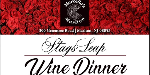 Stags' Leap Valentine's Day Wine Dinner