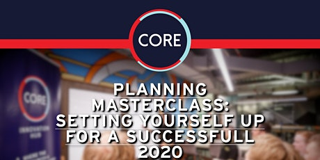 Planning Masterclass: Setting Yourself up for a Successful 2020 tickets