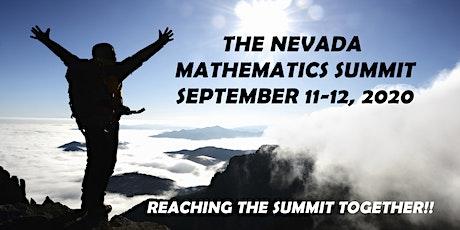 The Nevada Mathematics Summit 2020 tickets