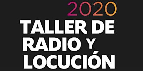 Taller de Radio y Locución Bogotá entradas