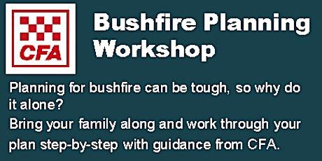 Eildon - Bushfire Planning Workshop tickets