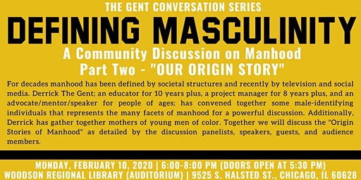Defining Masculinity: A Community Discussion on Manhood - Part 2