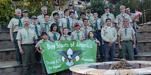 Boy Scout Troop 275 - 11th Annual Spaghetti Dinner Fundraiser