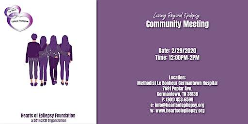 Living Beyond Epilepsy Community Meeting
