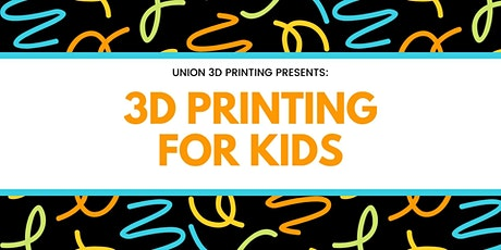 Learn 3D Printing for Kids tickets