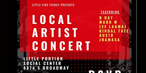 Little Vibe Friday Local Artist Concert