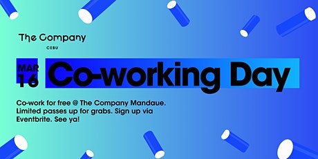 Co-working Day @ The Company Mandaue tickets