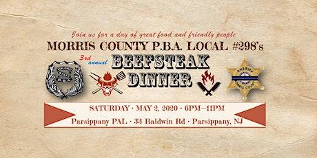 PBA Local #298, 3rd Annual Beefsteak Dinner tickets