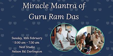 Miracle Mantra of Guru Ram Das tickets