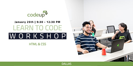 Codeup Dallas Learn to Code: HTML + CSS ( Intro to Web Development)