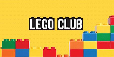 Lego Club - Bundaberg Library tickets