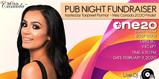 Pub Night Fundraiser hosted by Tanpreet Parmar
