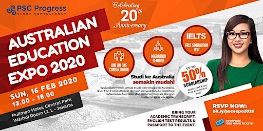 [THE BIGGEST EVENT] Australia Education & Migration Expo Februari 2020