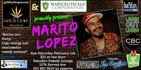 Gold Leaf & Mariceuticals Corporation presents Marito Lopez tickets
