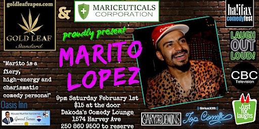 Gold Leaf & Mariceuticals Corporation presents Marito Lopez