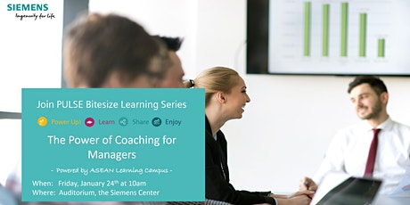 The Power of Coaching for Managers tickets