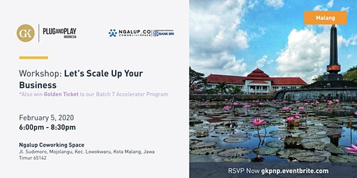 Workshop: Let's Scale Up Your Business