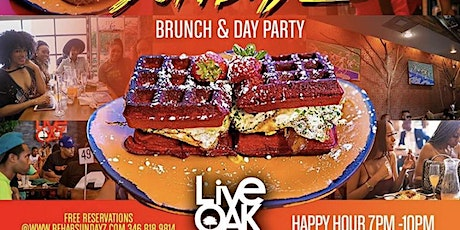 BRUNCH SUNDAY'S @LIVE OAK  tickets