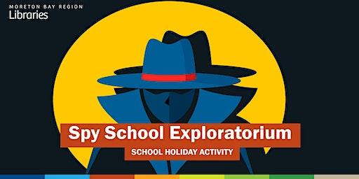 Spy School Exploratorium (6-12 years) - Strathpine Library