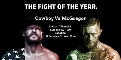 UFC 246: McGregor VS Cowboy Live at 17 Fenwick tickets
