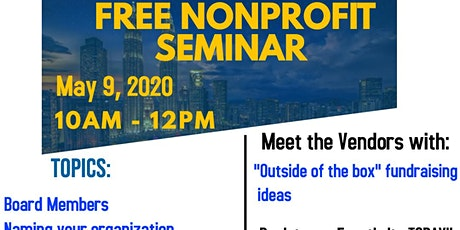 FREE: How to start a Nonprofit Organization tickets