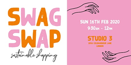 Swag Swap - Sustainable Shopping tickets