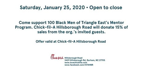 Spirit Day: 100 Black Men Triangle East tickets