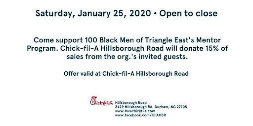 Spirit Day: 100 Black Men Triangle East